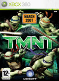UK Boxshot of TMNT: Teenage Mutant Ninja Turtles (XBOX360)