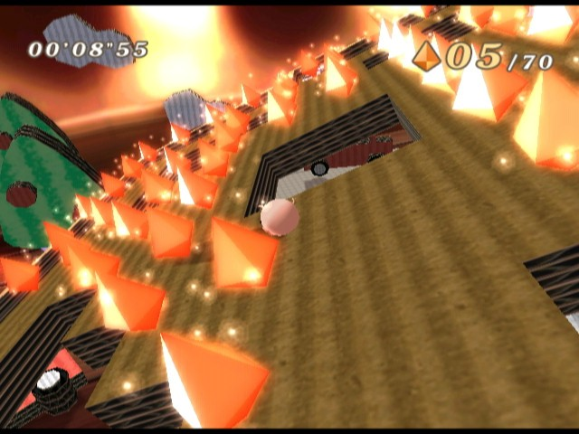 Screenshot of Kororinpa (NINTENDO Wii)