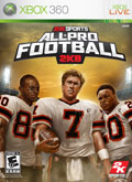 US Boxshot of All-Pro Football 2K8 (XBOX360)