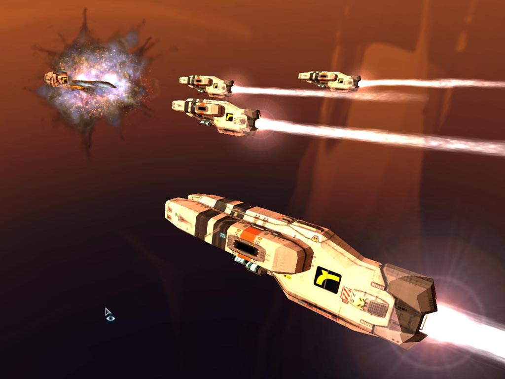 Screenshot of Homeworld 2 (PC)