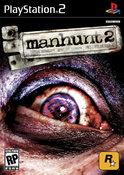 gamesps2 Manhunt 2 USA PS2DVD
