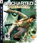 UK Boxshot of Uncharted: Drake's Fortune (PS3)