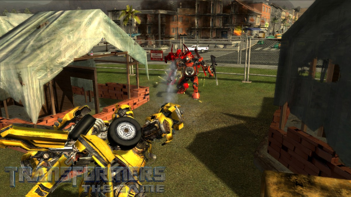 screen1 large Transformers The Game Full PC Version