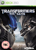 UK Boxshot of Transformers: The Game (XBOX360)