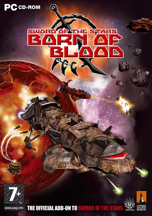 Boxshot of Sword of the Stars: Born of Blood (PC)