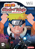UK Boxshot of Naruto: Clash of Ninja Revolution (NINTENDO Wii)