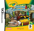 UK Boxshot of Crayola Treasure Adventures (DS)