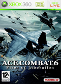 UK Boxshot of Ace Combat 6: Fires of Liberation (XBOX360)