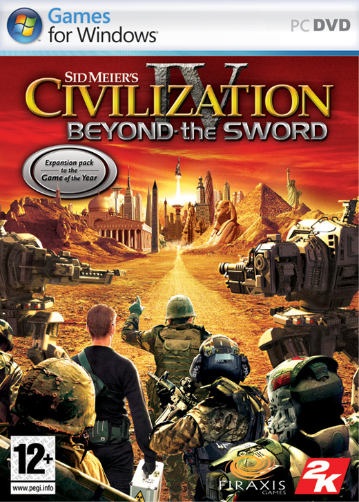 Civilization IV + Add-ons Warlords and Beyond the Sword PC