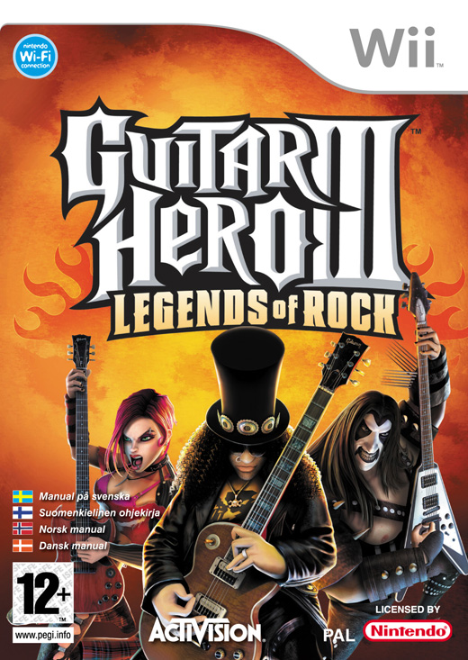Boxshot of Guitar Hero III: Legends of Rock for NINTENDO Wii