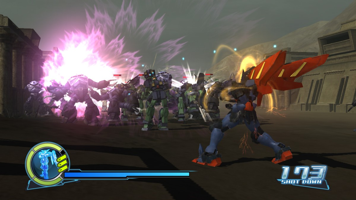 Screenshot of Dynasty Warriors: Gundam (XBOX360)