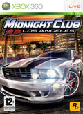 UK Boxshot of Midnight Club: Los Angeles (XBOX360)