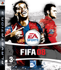 UK Boxshot of FIFA 08 (PS3)