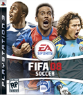 US Boxshot of FIFA 08 (PS3)