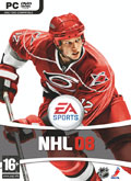 UK Boxshot of NHL 08 (PC)