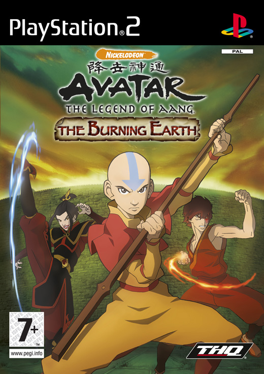 gamesps2 Avatar.Burning.Earth.USA.PS2DVD