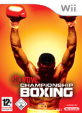 UK Boxshot of Showtime Championship Boxing (NINTENDO Wii)