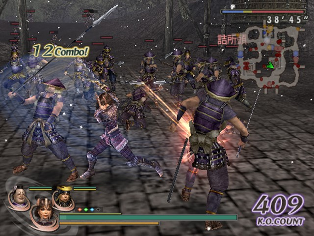 Screenshot of Warriors Orochi (PS2)