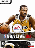UK Boxshot of NBA Live 08 (PC)