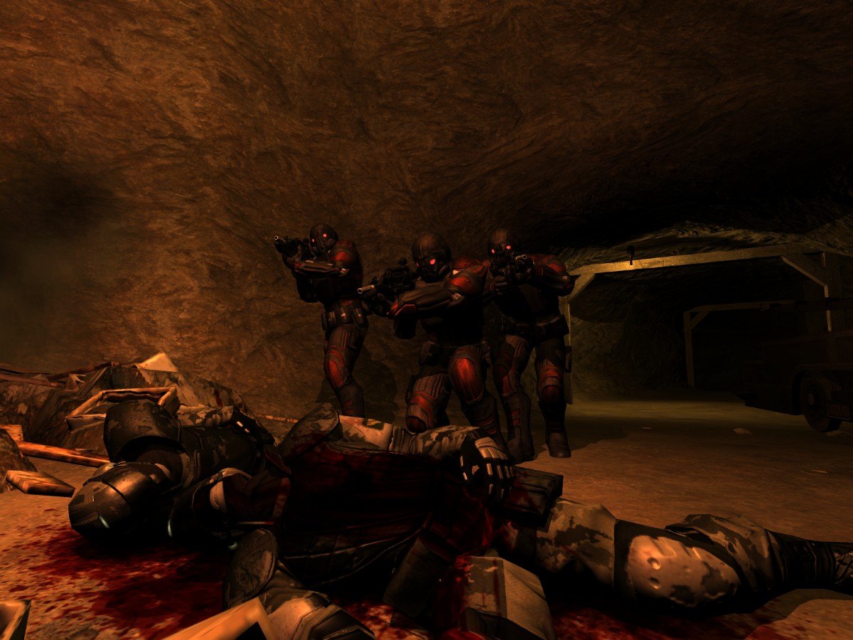 Screenshot of F.E.A.R.: Perseus Mandate (PC)