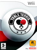 UK Boxshot of Table Tennis (NINTENDO Wii)