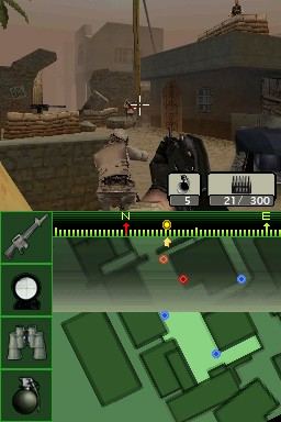 Screenshot of Call of Duty 4: Modern Warfare (DS)