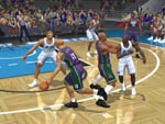 Click to enlarge this screenshot of NBA 2K2 (PS2)