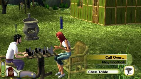 psp, psp ����, psp �������, psp ��������� �������, ��������� ���� pspThe Sims 2: Castaway