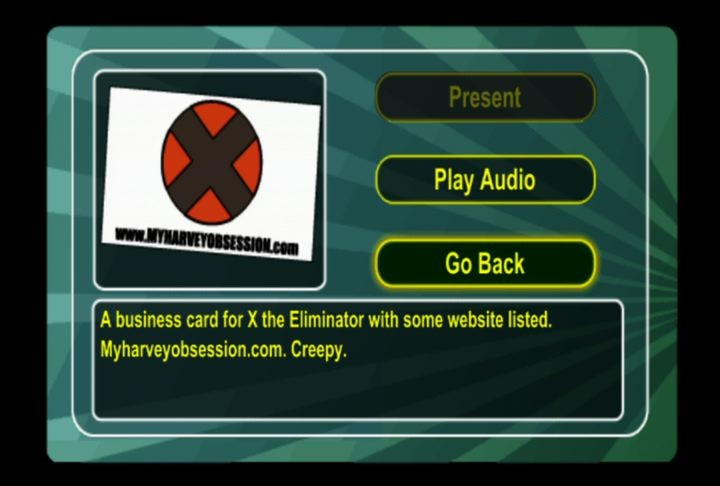Screenshot of Harvey Birdman: Attorney at Law (PSP)