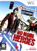 UK Boxshot of No More Heroes (NINTENDO Wii)