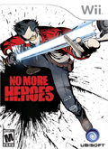 US Boxshot of No More Heroes (NINTENDO Wii)