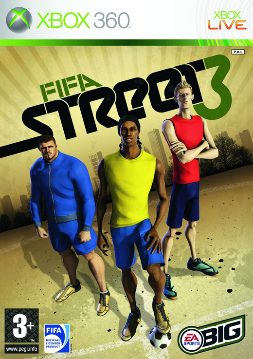FIFA Street 3 XBOX360-RANT Xbox Ps3 Ps4 Pc jtag rgh dvd iso Xbox360 Wii Nintendo Mac Linux