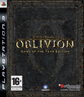 UK Boxshot of Elder Scrolls IV: Oblivion - Game of the Year (PS3)