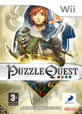 UK Boxshot of Puzzle Quest: Challenge of the Warlords (NINTENDO Wii)