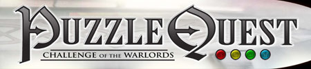 Logo of Puzzle Quest: Challenge of the Warlords (NINTENDO Wii)