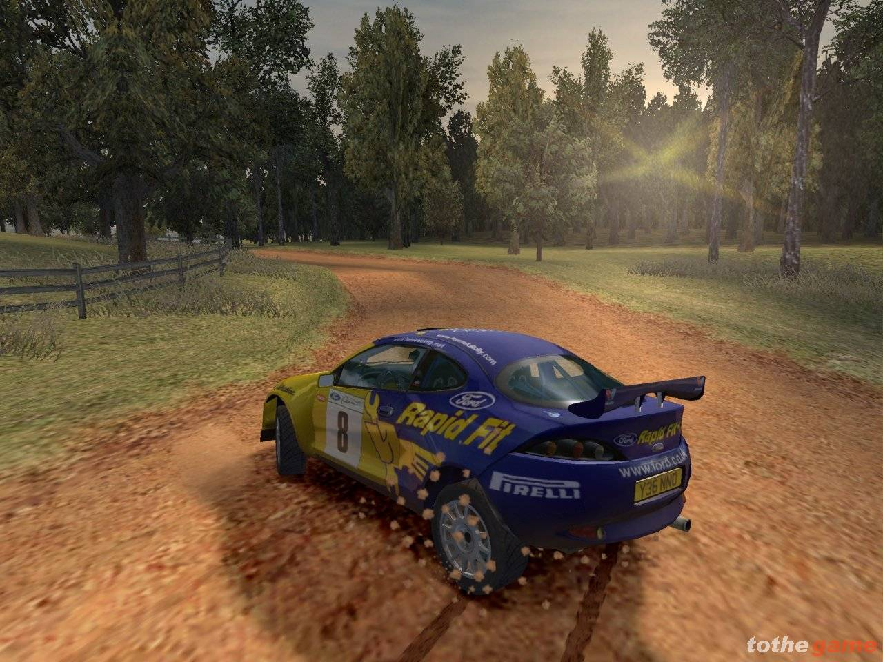 Screenshot of Colin McRae Rally 3 (PC)