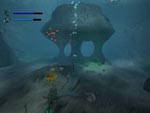 Click to enlarge this screenshot of Ecco the Dolphin: Defender of the Future (PS2)
