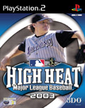 UK Boxshot of High Heat Baseball 2003 (PS2)