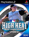 US Boxshot of High Heat Baseball 2003 (PS2)