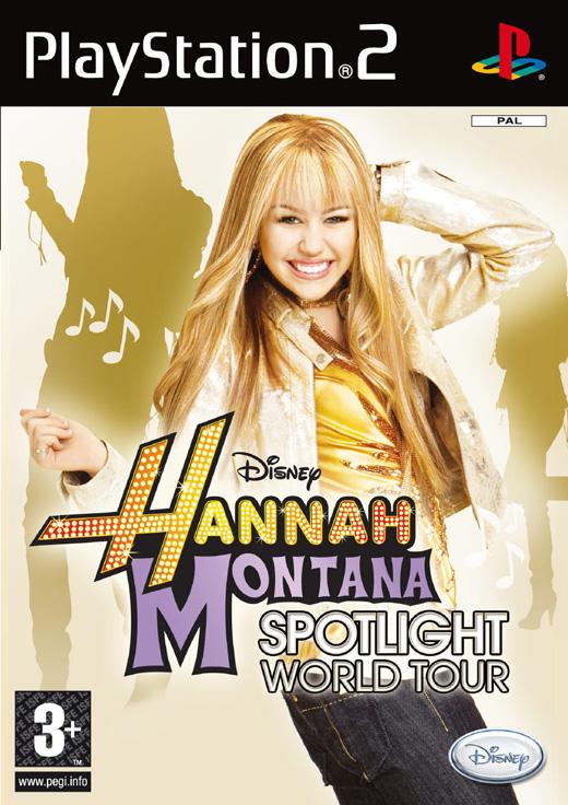 Hannah Montana: Spotlight World Tour (PS2) 2008