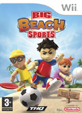 UK Boxshot of Big Beach Sports (NINTENDO Wii)