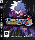 UK Boxshot of Disgaea 3: Absence of Justice (PS3)