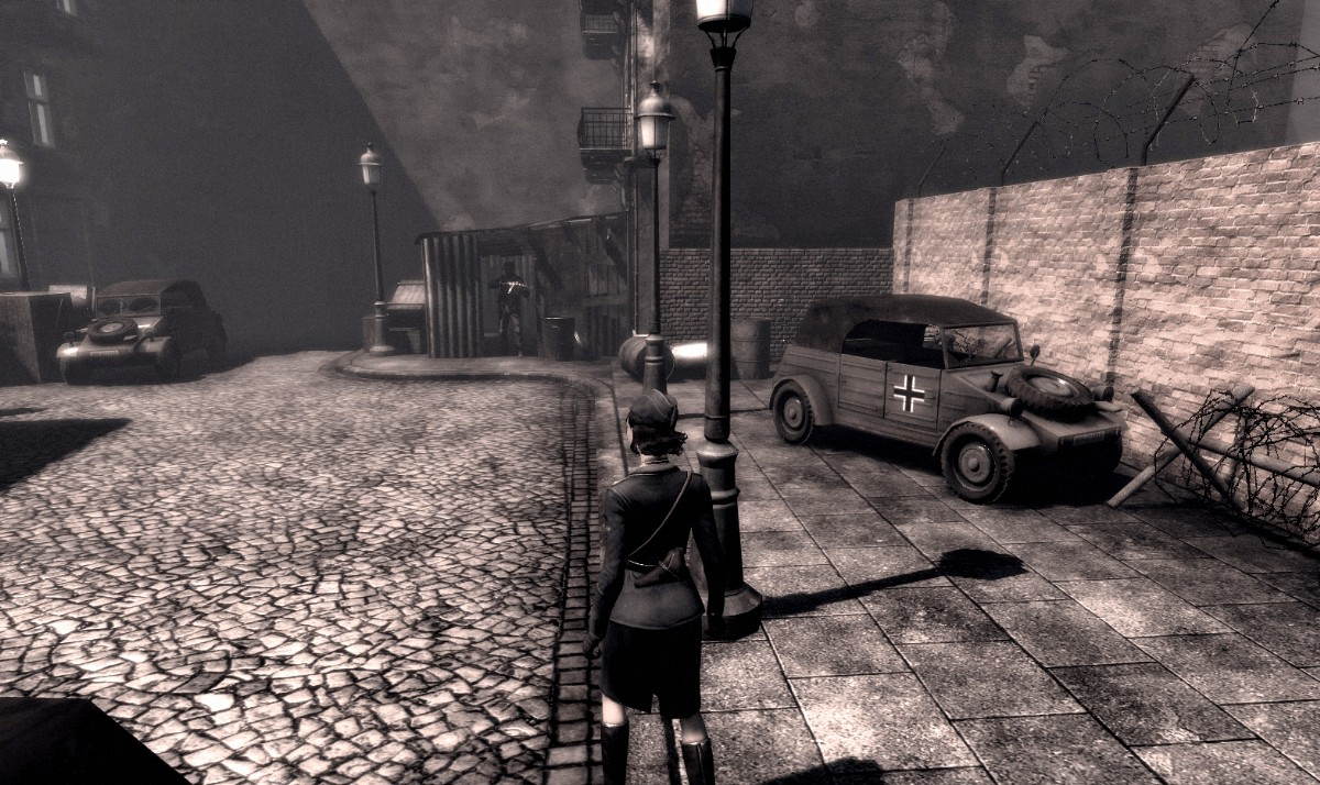 Screenshot of Velvet Assassin (XBOX360)