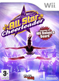 UK Boxshot of All Star Cheerleader (NINTENDO Wii)