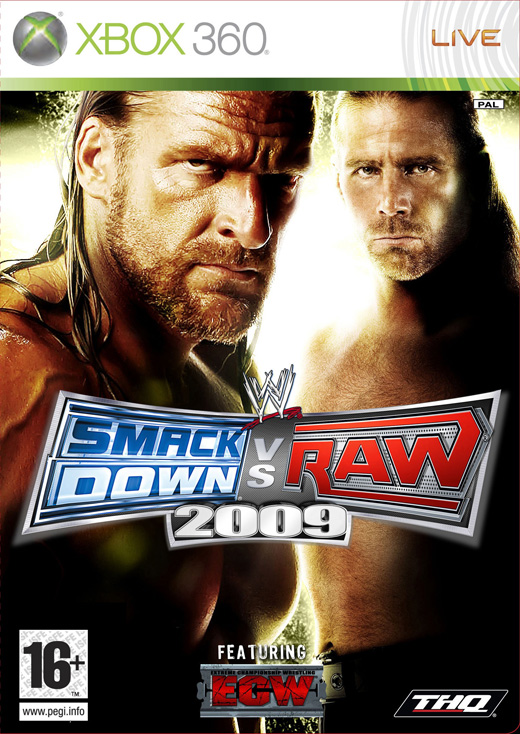 WWE SmackDown vs. Raw 2009 (2008) Xbox Ps3 Ps4 Pc jtag rgh dvd iso Xbox360 Wii Nintendo Mac Linux
