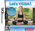US Boxshot of Let's Yoga (DS)