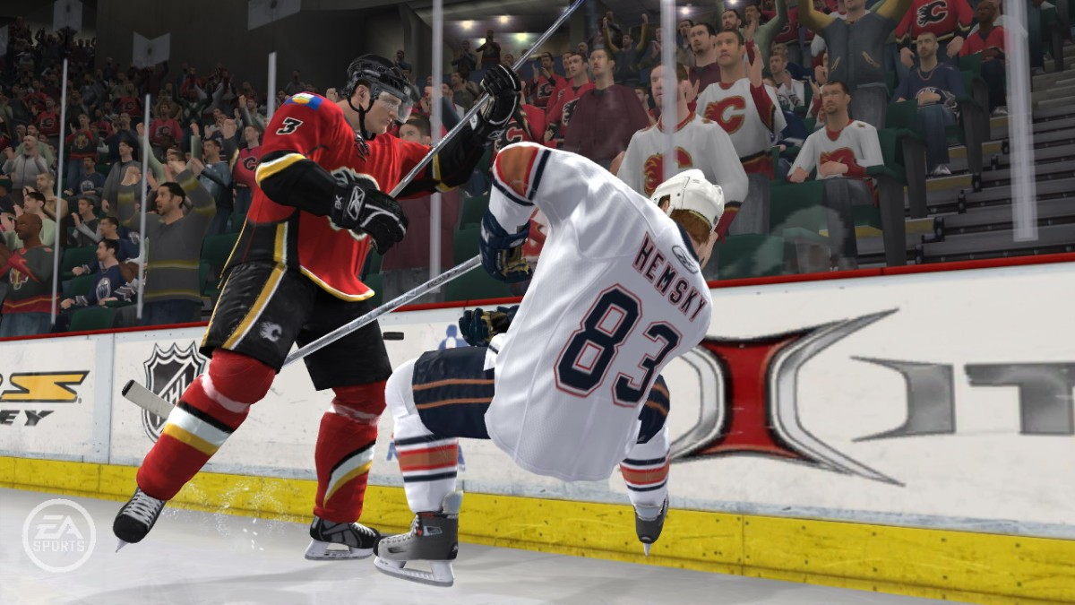 Screenshot of NHL 09 (PC)