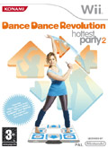 UK Boxshot of Dance Dance Revolution Hottest Party 2 (NINTENDO Wii)