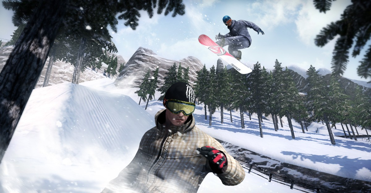 Screenshot of Shaun White Snowboarding (PC)