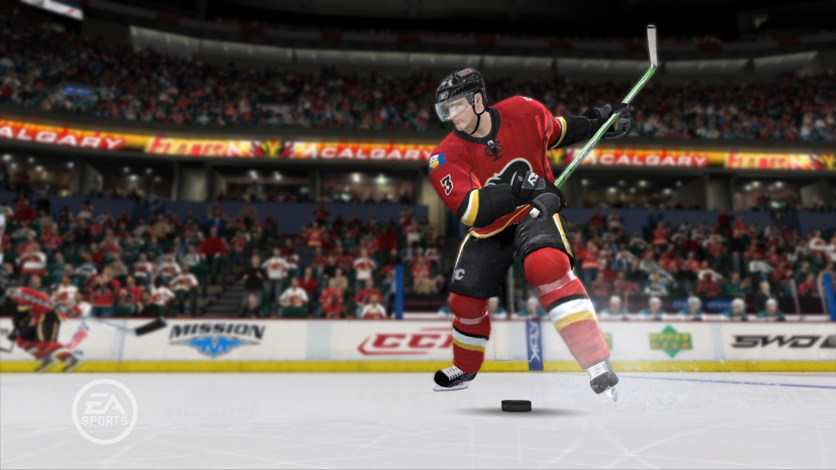 Screenshot of NHL 09 (XBOX360)